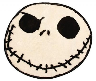 Jack Skellington Bath Mat From Our Nightmare Before Christmas