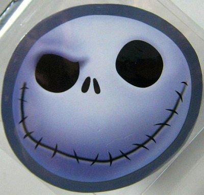 Jack Skellington Smiling Face Magnet From Our Magnets