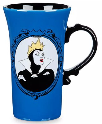 Evil Queen 'Unfairest of them all' Disney Villains coffee mug