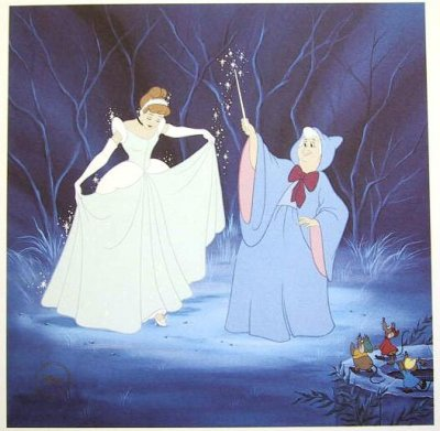 Cinderella Lithograph From Our Walt Disney Classics Collection Collection Disney Collectibles