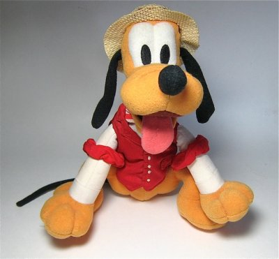 Barbershop quartet Pluto plush stuffed doll