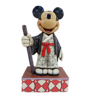 'Greetings from Japan' - Mickey Mouse figurine (Jim Shore Disney Traditions)