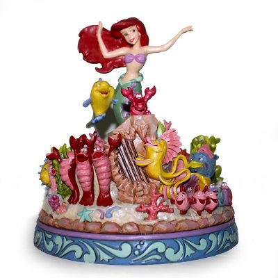 'Under the Sea' - Little Mermaid musical figurine (Jim Shore Disney Traditions)