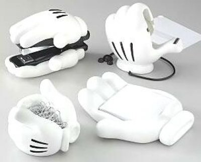 Mickey Mouse Hand Desk Set
