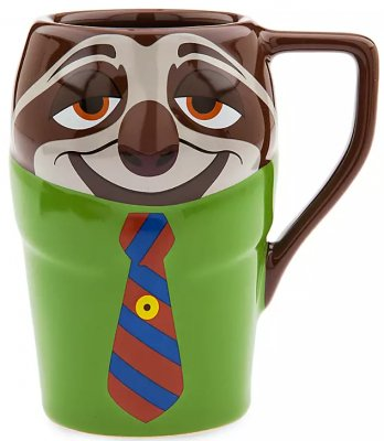 Flash the sloth figural coffee mug (from Disney's 'Zootopia')