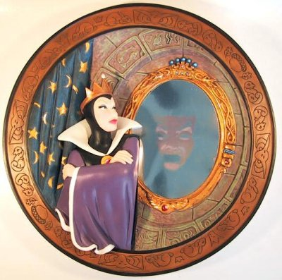 Magic Mirror On The Wall Decorative Plate From Our Other