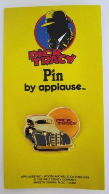 Dick Tracy's car Disney pin
