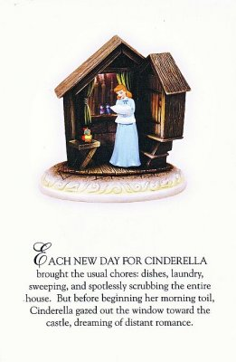 Cinderella Dreams Story-time postcard