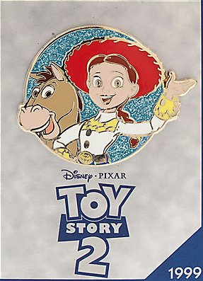 'Toy Story 2' Disney Store 30th anniversary pin