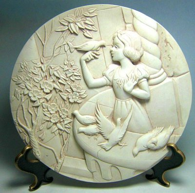 Decorative Christmas Plate