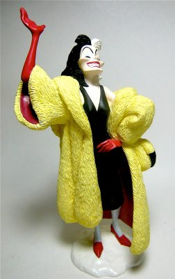 Cruella de Vil figure (resin) (1990s)
