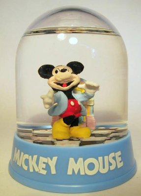 Mickey Mouse at the jukebox waterball