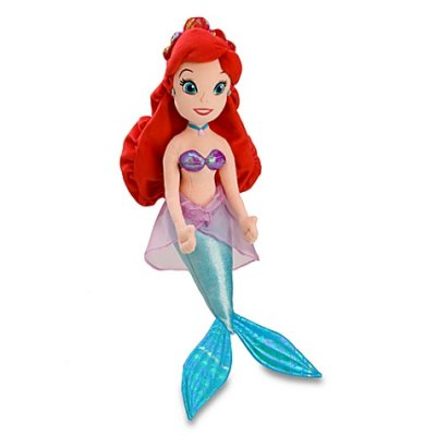 Ariel large plush (20 inches)