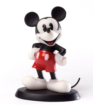 'Just Mickey' - Mickey Mouse figurine