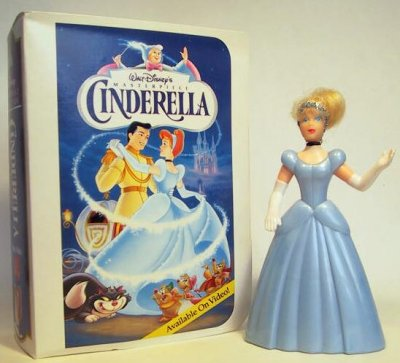 cinderella fast food toy from our fast food toys mcdonald