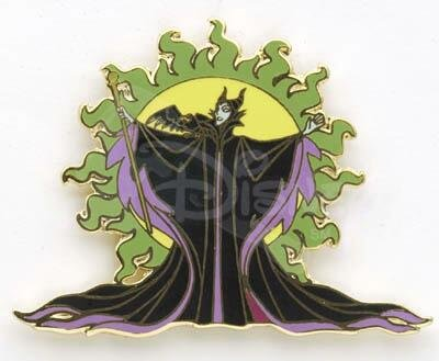 Maleficent Ring of Fire pin