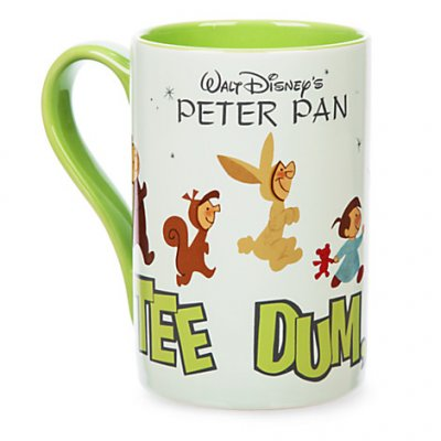 Peter Pan Record Cover Coffee Mug From Our Mugs Amp Cups