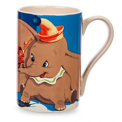 Dumbo And Timothy Mouse Record Cover Coffee Mug From Our