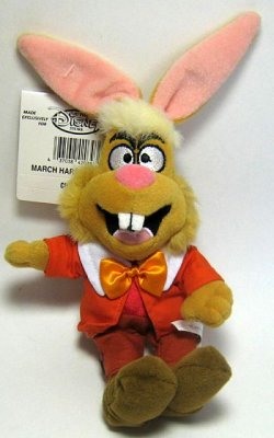 March Hare Beanie Baby From Our Plush Collection Disney