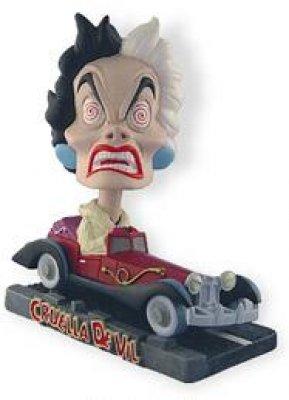 Cruella De Vil Bobblehead From Our Bobbleheads Collection