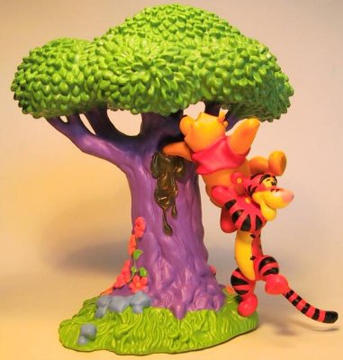 Winnie The Pooh Amp Tigger In The Honey Tree Figure From Our