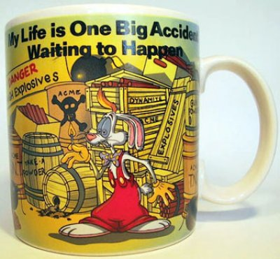 Roger Rabbit Disney coffee mug