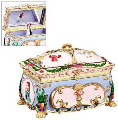 Ariel deluxe musical jewelry box from our Other collection Disney