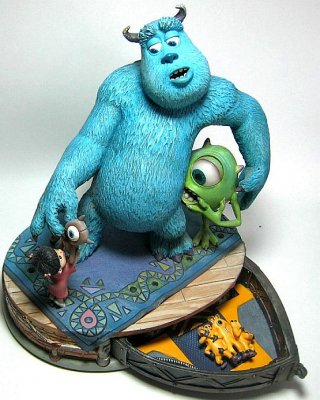 Monsters Inc Markrita Figure With Secret Compartment From