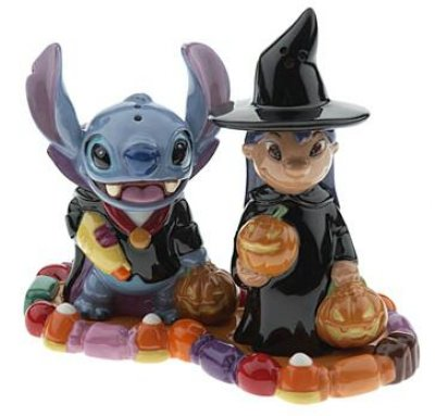 Stitch As Vampire And Lilo As Witch Halloween Salt