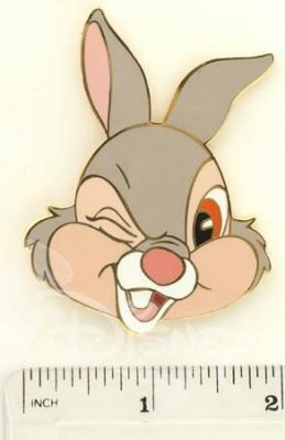 Winking Thumper Pin From Our Pins Collection Disney