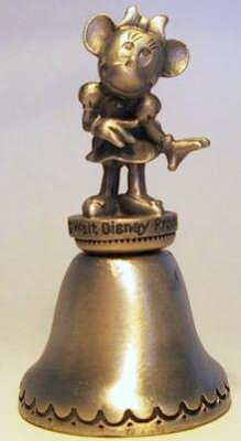 Minnie Mouse pewter bell (Fort)