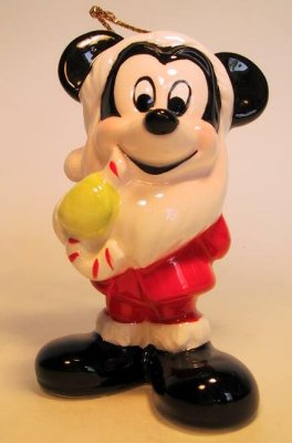 Merry Mickey Claus ornament