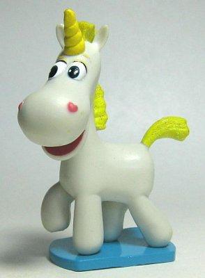 6 Pieces/Set Handmade Unicorn Hair Bows With Hair Clips