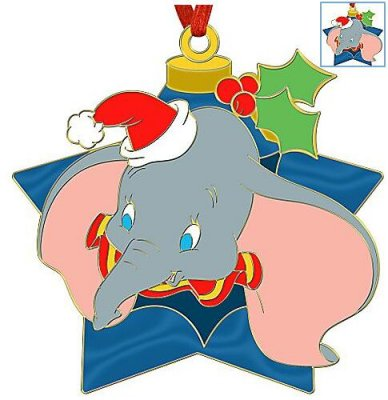 Dumbo holiday ornament pin