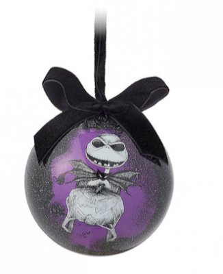 Jack Skellington Disney's 'The Nightmare Before Christmas' ball ornament (2018)