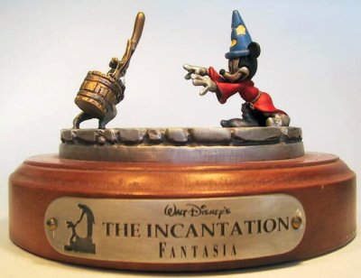 The Incantation pewter scene