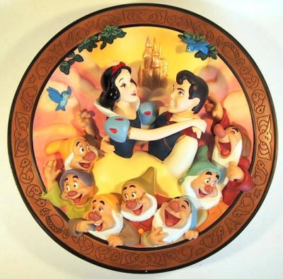 True love at last! decorative plate