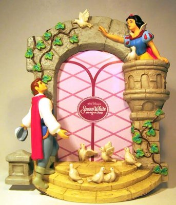 Snow White In Tower Prince Photo Picture Frame From Our Other