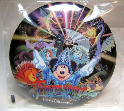 Tokyo Disney Sea 10th Anniversary Large Button With