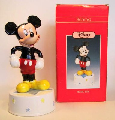 Mickey Mouse Club Music Box From Our Schmid Bros
