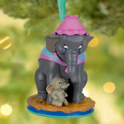 dumbo and mrs jumbo sketchbook ornament 2013 from our