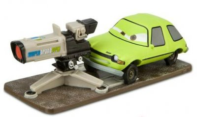 Acer with camera Disney PVC figure (from Cars 2)