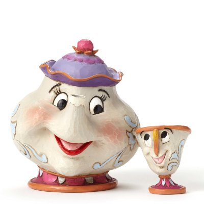 'A Mother's Love' - Mrs Potts & Chip figurine (Jim Shore Disney Traditions)