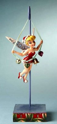 'Let The Season Ring' - Tinker Bell holiday figurine (Jim Shore Disney Traditions)