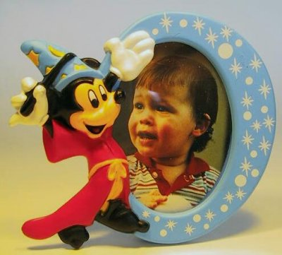 Mickey Mouse Sorcerer S Apprentice Photo Frame Magnet From