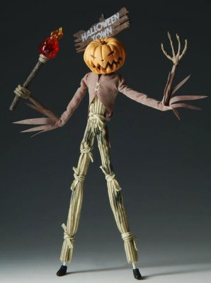 Jack Skellington As Pumpkin King With Torch Active Label Figure