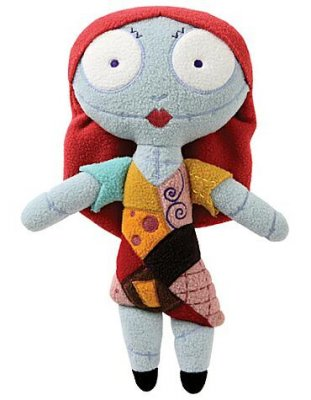 Pook A Looz Sally Plush Doll From Our Nightmare Before