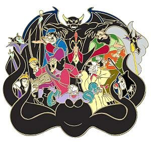 Disney Villains Jumbo Pin From Our Pins Collection