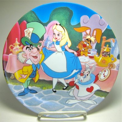 Alice In Wonderland Tea Party Decorative Plate From Our