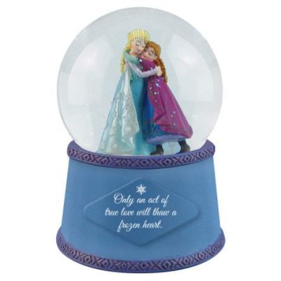 'An Act of True Love' - Anna and Elsa snowglobe (from 'Frozen')